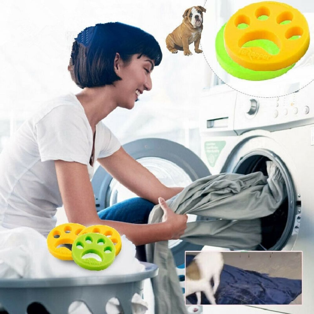 Pet Hair Remover Washing Machine Reusable Laundry Fur Catcher