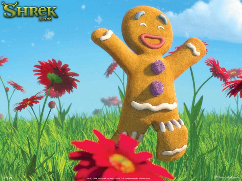 第三の映画シュレックにある面白いクッキー(シュレック) 映画 高解像度で壁紙 シュレック, 壁紙, 映画