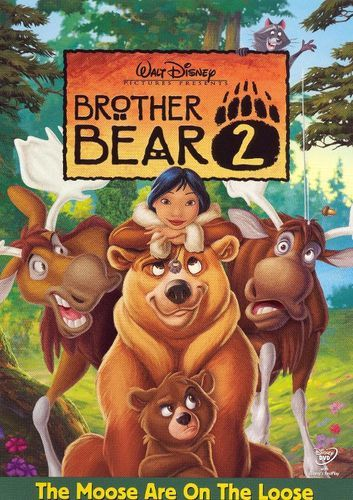 Brother Bear 2 Dvd 2006 Irmao Urso Filmes Infantis Disney