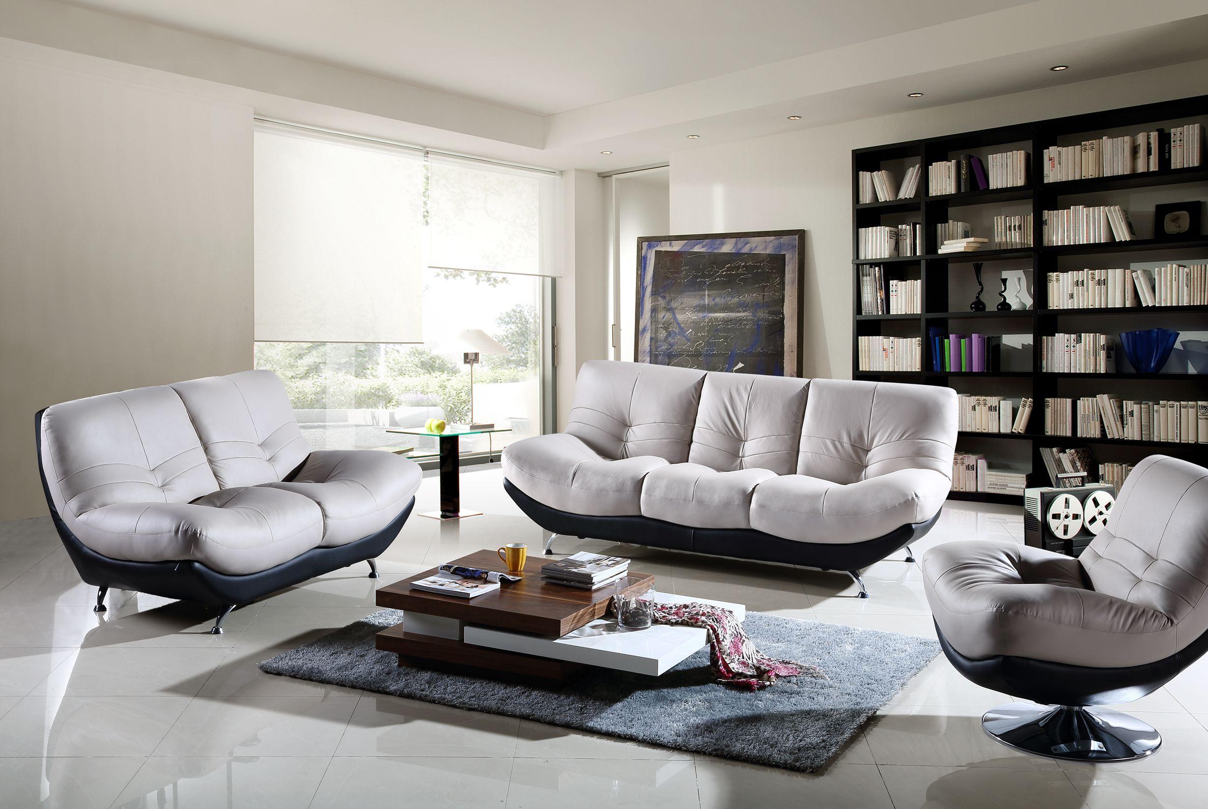 Furniture Modern White Leather 3 Seater Sofa White Leather Loveseat White Leather Swivel Arm Chair Gre Decoration Moderne Idee De Decoration Decoration Maison