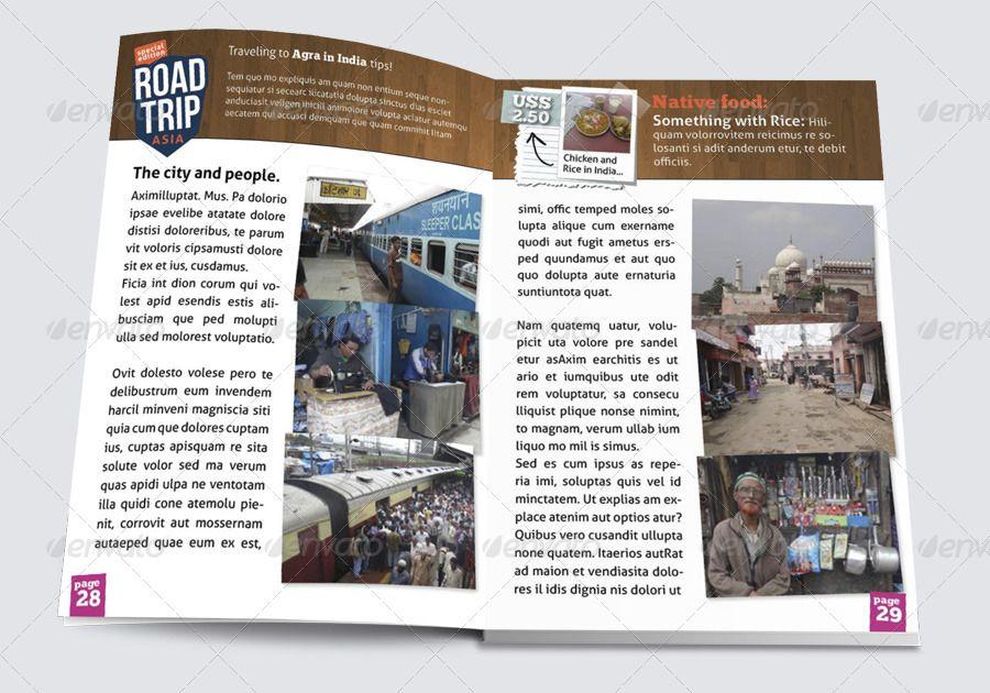 Asiantrip Magazine Bundle Print Ipad Templates Bundle Magazine