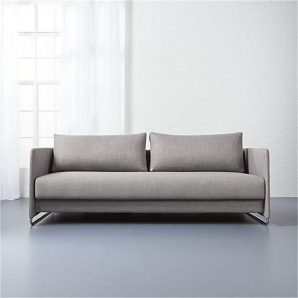 Option 3 Random Grey Sleeper Sofa Ingenious Sleeper Transforms