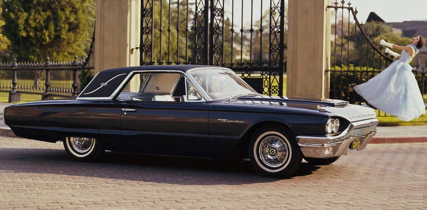 1964 Thunderbird Landau In Caspian Blue Ford Thunderbird