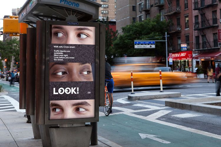 Pentagram and New York City are attempting to redesign pedestrian behavior.