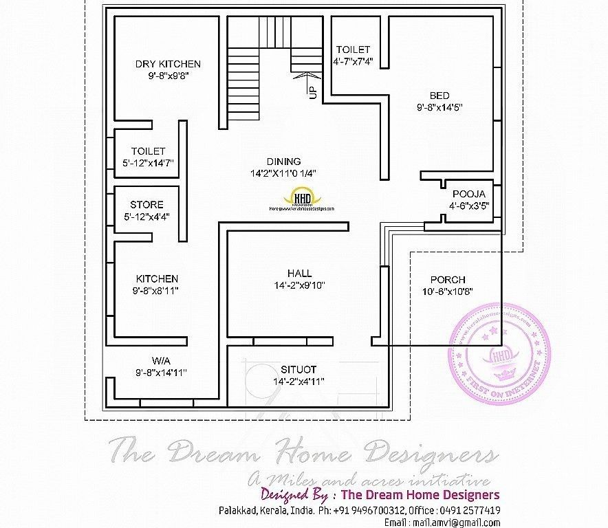 23 Luxury 600 Sq Ft House Plans Kerala House Plans Indian House Plans Small House Blueprints