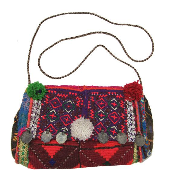 Pakistani hand embroidered hand bag handmade by NishaCollection ... 74b53c421c3be