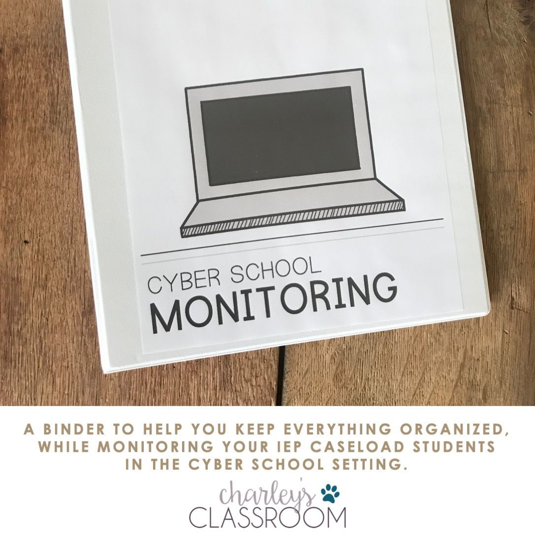 Cyber School Monitoring Binder