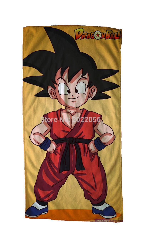 Free shipping anime manga dragonball z face towels 30x70cm