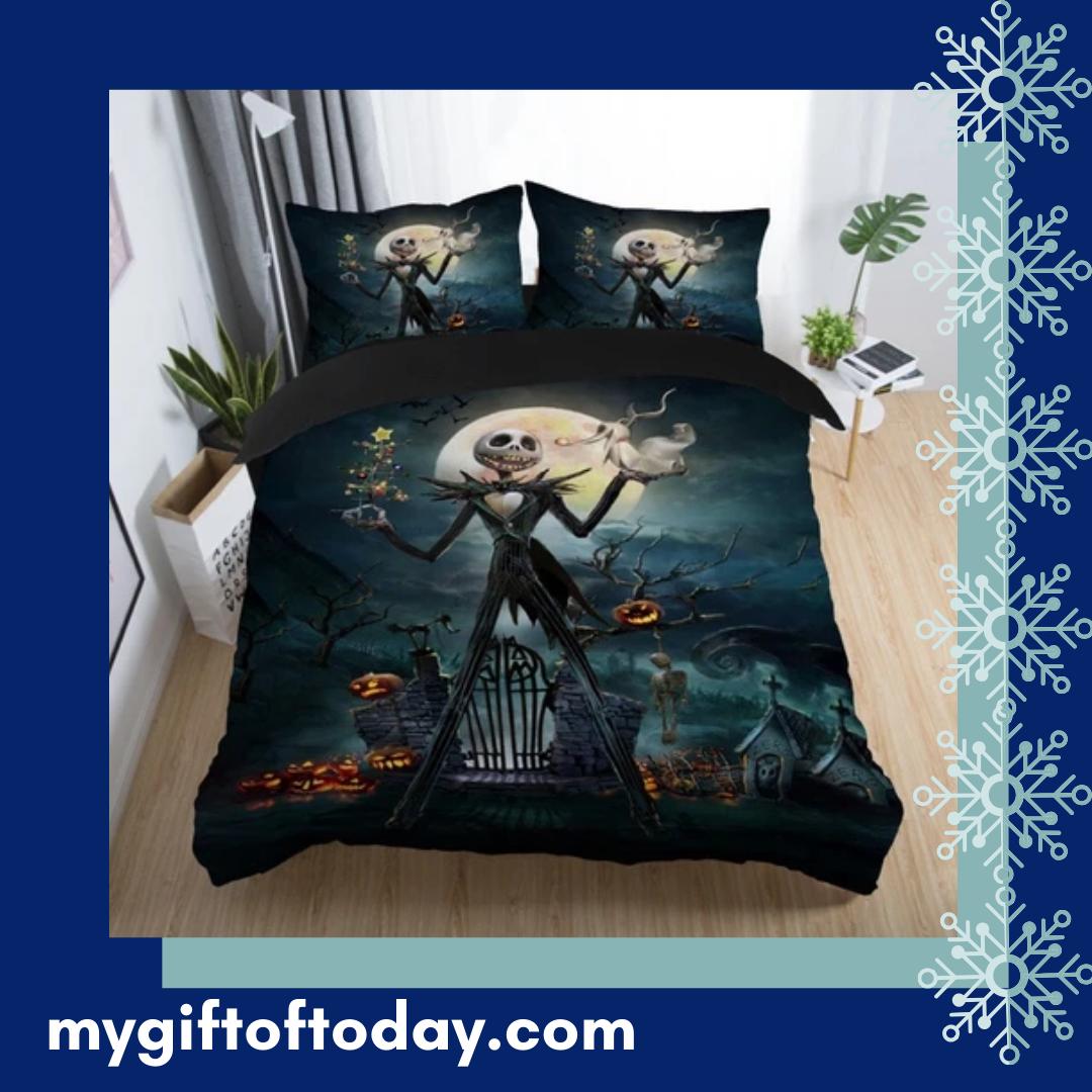 Nightmare Before Christmas Bedding Set Shop Here Http Ow Ly Plyl50xi0hp Christmas Bedding Set Nightmare Before Christmas Bedding Christmas Bedding