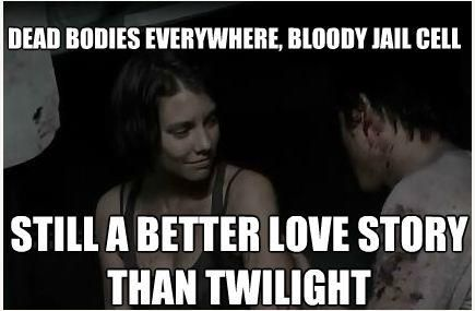 Still A Better Story Than Twilight Walking Dead Funny Dead Man