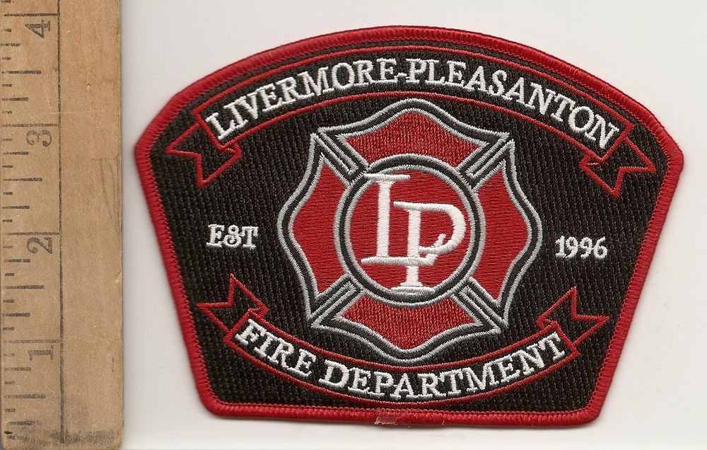Livermore Pleasanton Fire Department California Shoulder Patch
