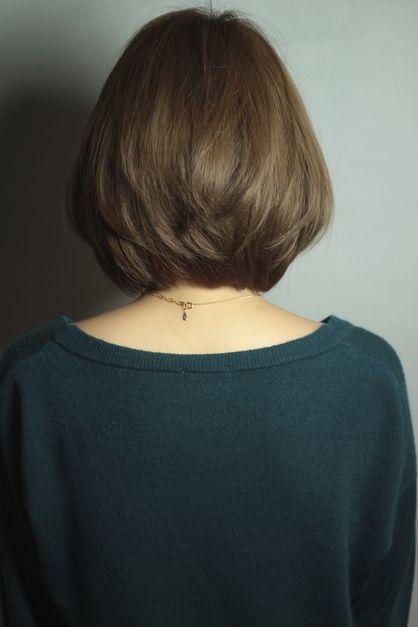 小顔ボブ|AFLOAT RUVUAのヘアスタイル