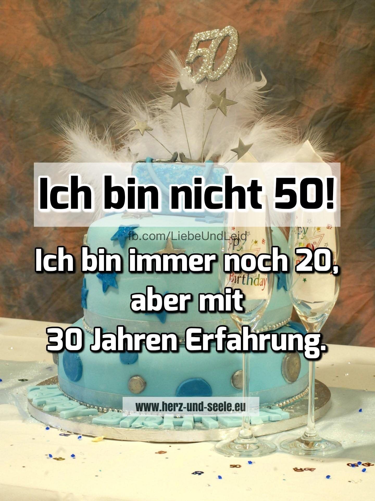 Ich Bin Nicht 50 Geburtstag Lustig Lustige Spruche Und
