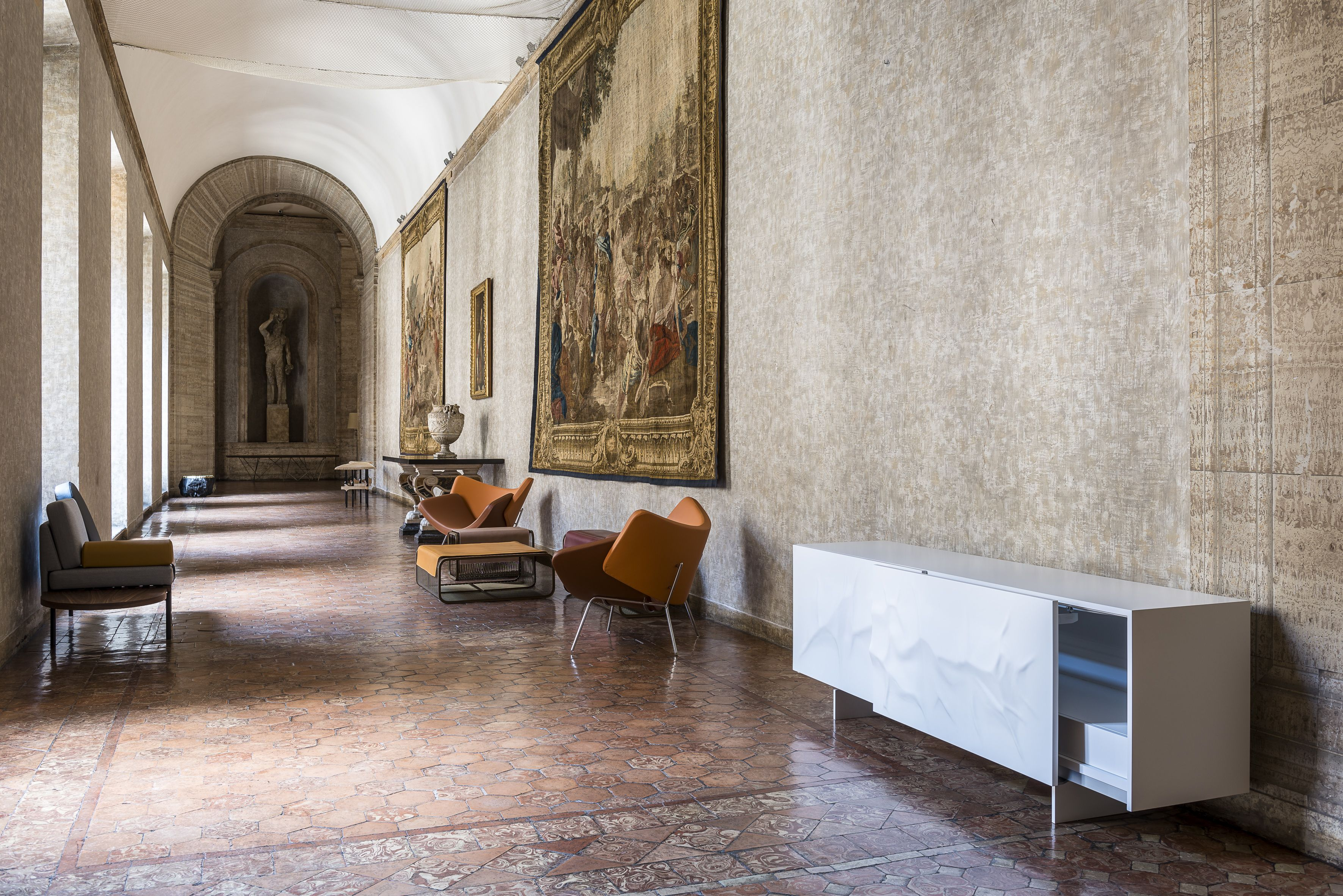 Roche Bobois | Design@Farnese | Exhibition at the Palazzo Farnese in ...