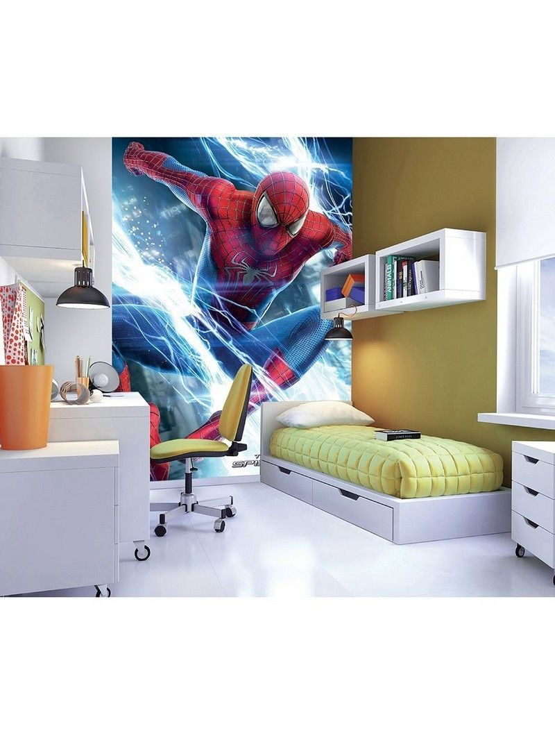 The Amazing Spiderman Wallpaper  Habitaciones infantiles