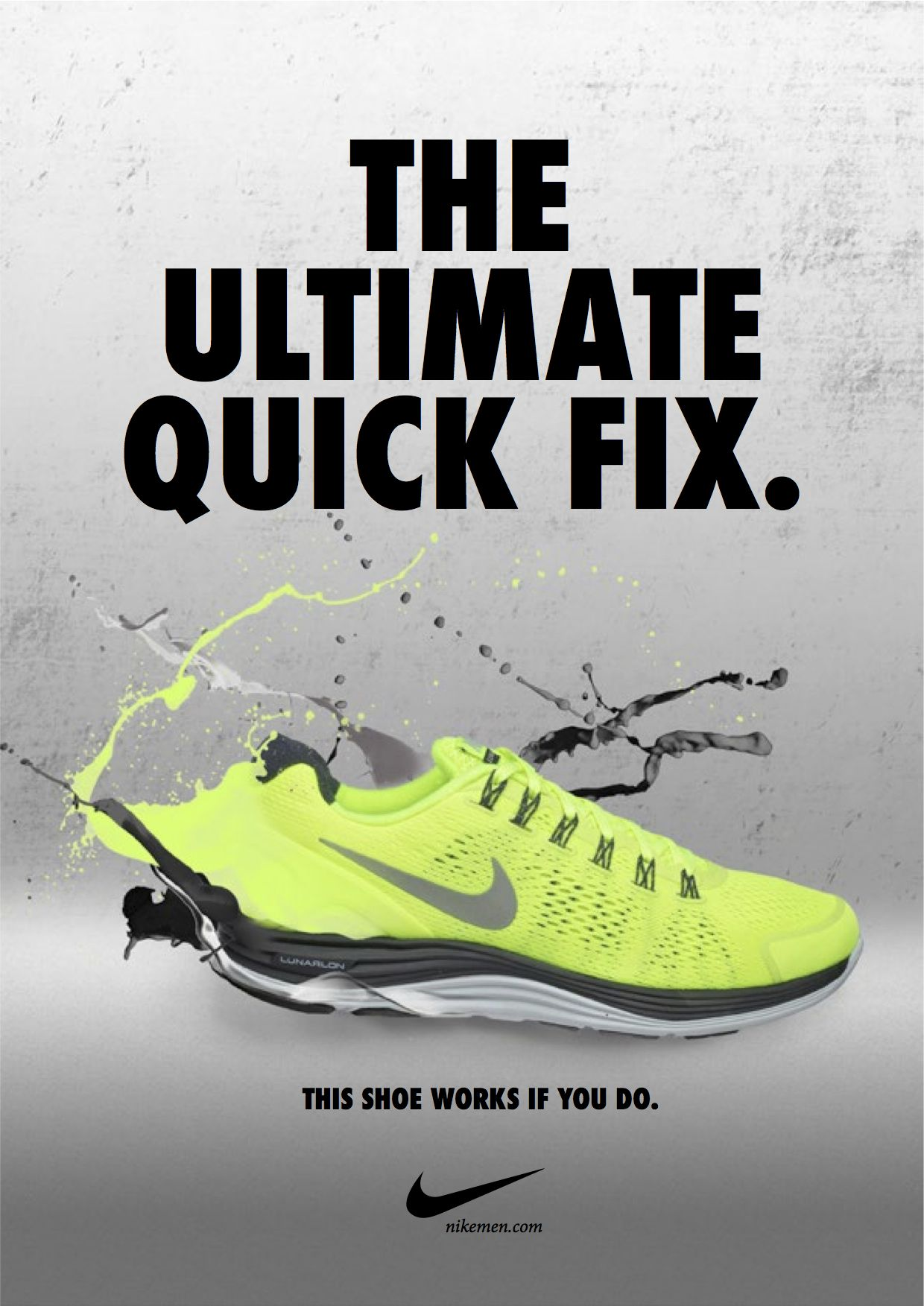 nike advertising photoshop