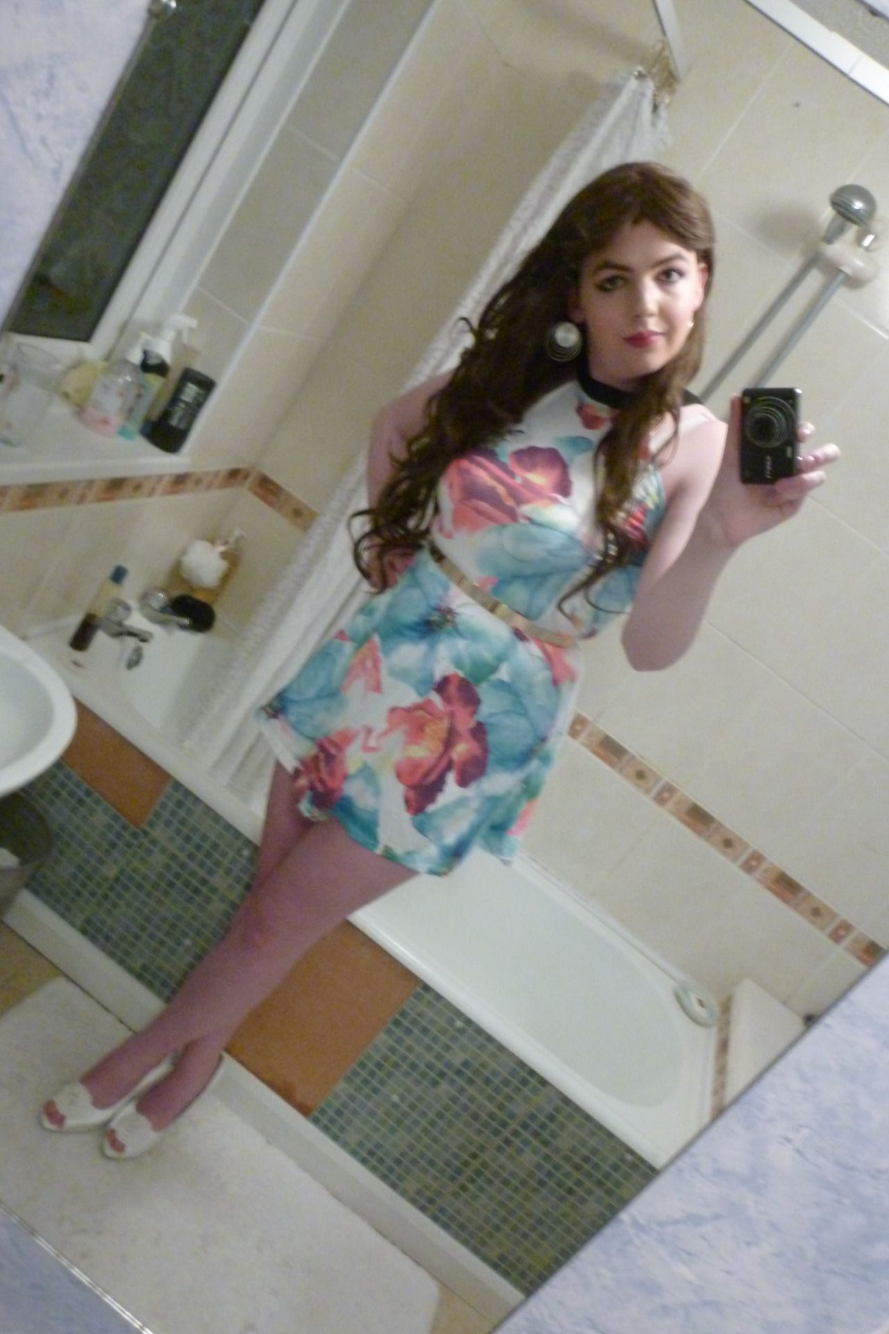 Lucy Is Such A Passable Sissy She Luvs Going To Hang Out At The Mall In This