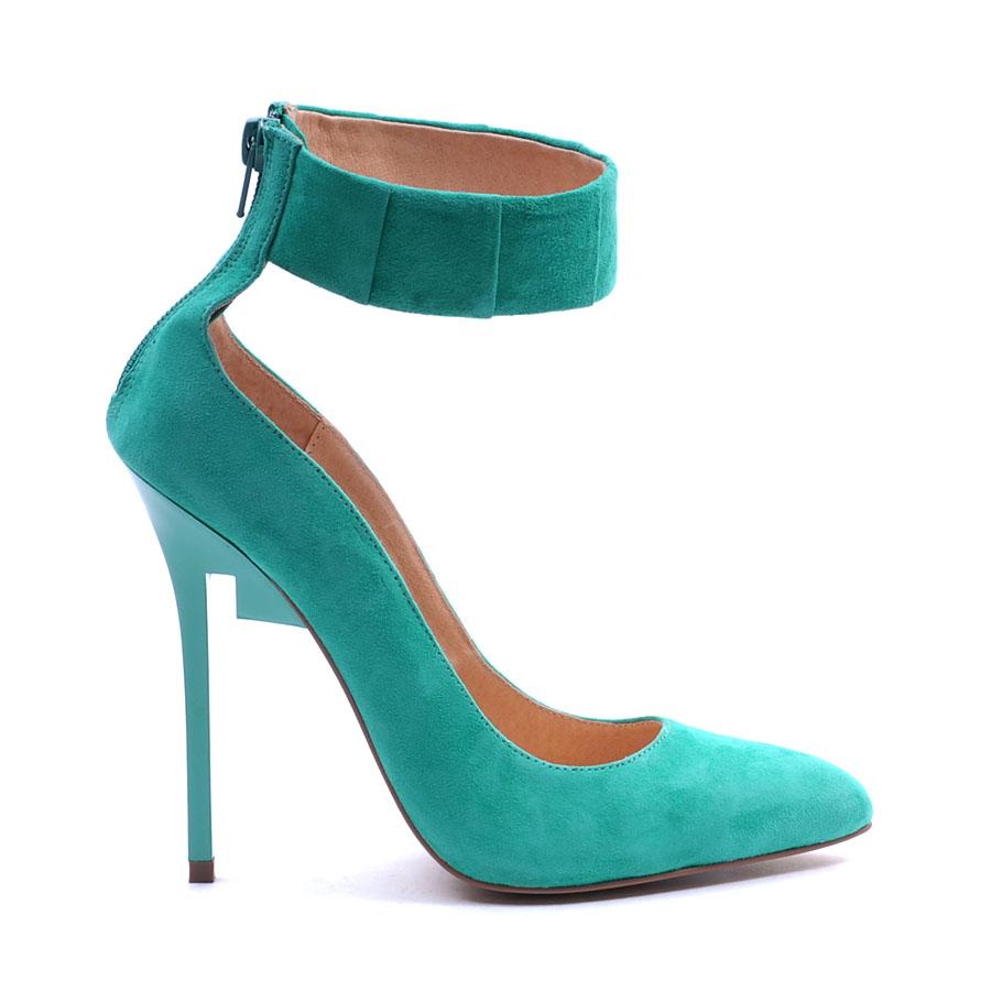 684d302d878f aqua ankle strap heels