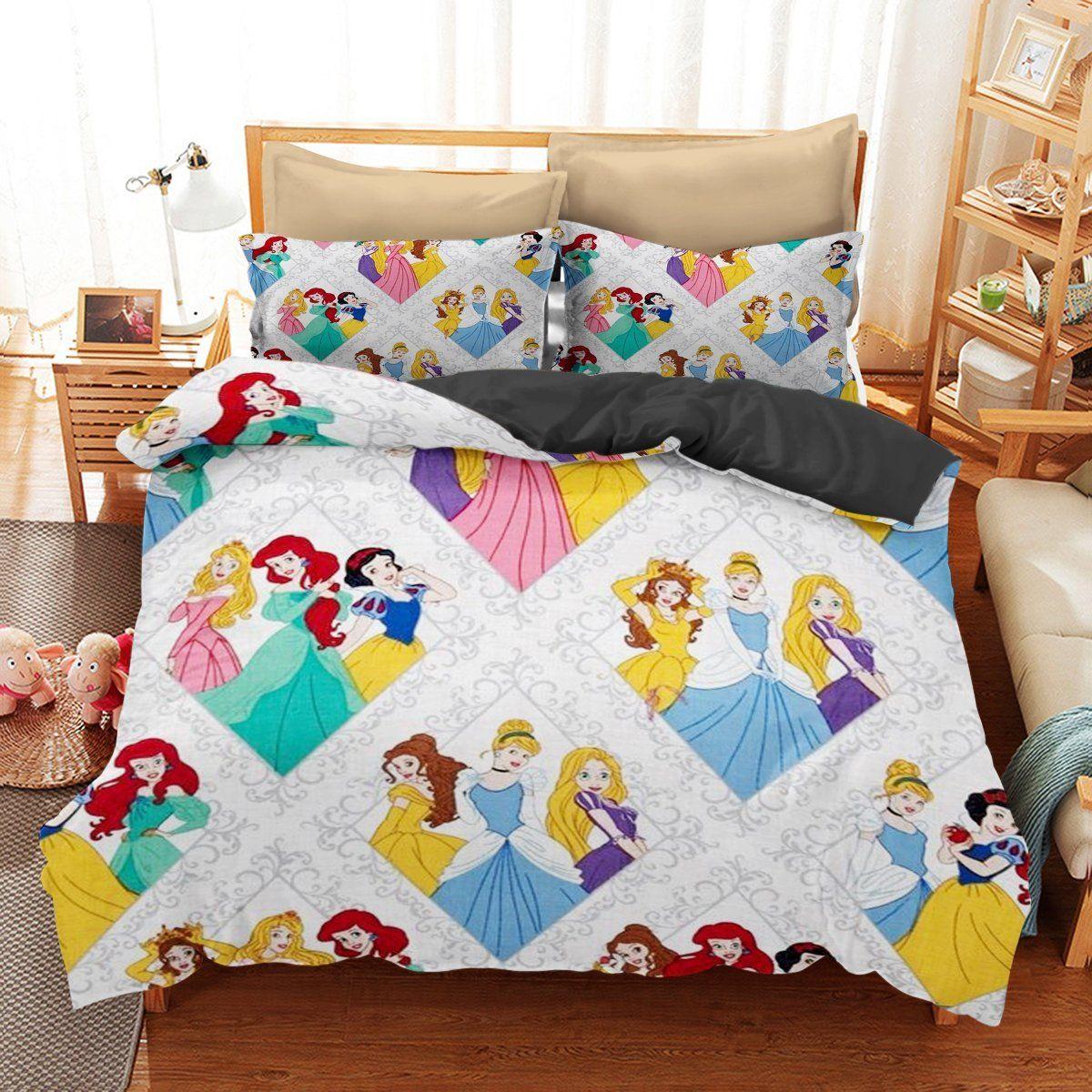 Bedding set disney princess funny gift idea disney