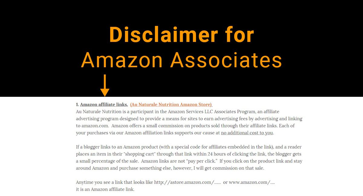 Sample Resume For Small Business Owner Disclaimer For Amazon Associates  Affiliates Ftc & Disclosure .