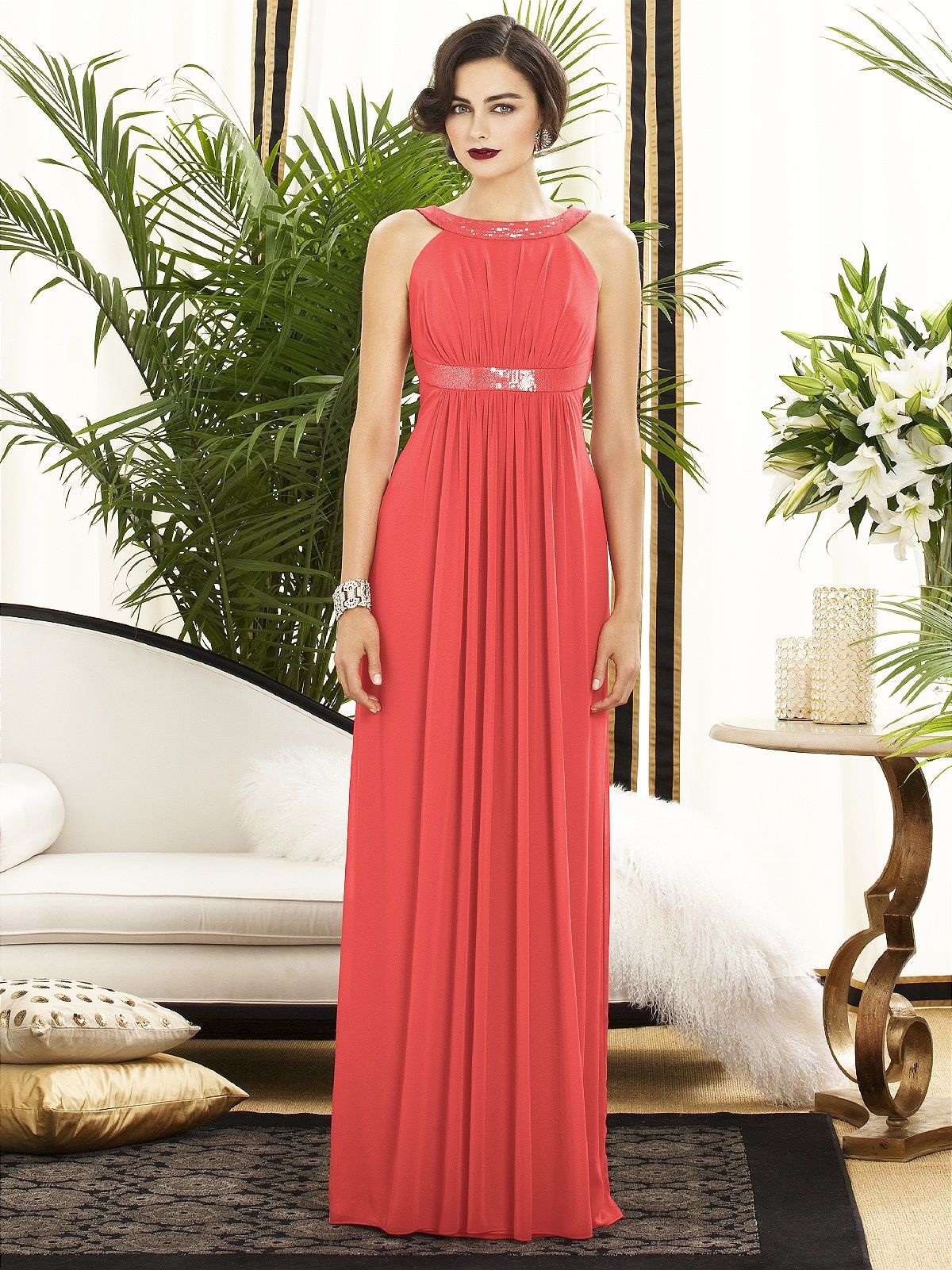 Red dress for wedding reception  Dessy Collection Style  The Dessy Group  Posters for my wall