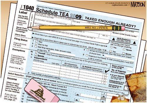 Teataxed Already Enough Again That Form Tax Cartoons Pinterest