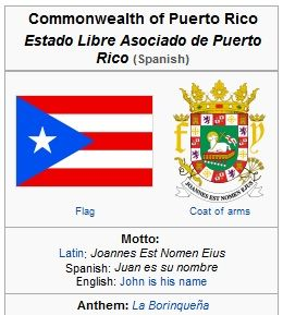 Flag Coat Of Arms And Motto Puerto Rico Puerto Rican Pride Coat Of Arms
