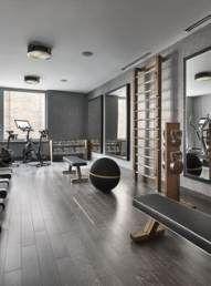 Trendy fitness interior design gym basements 31 Ideas #fitness #design
