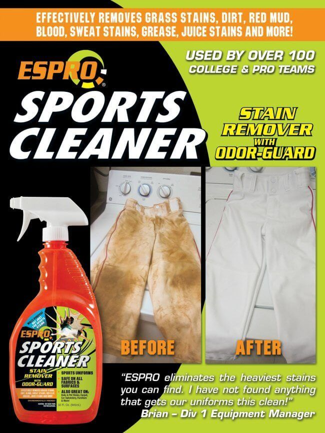 Stain Removal For Clothes Is Easy With Espro Sports