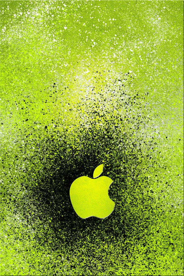 Applebrushgreenbyswrannndeviantartcomon At Deviantart Apple