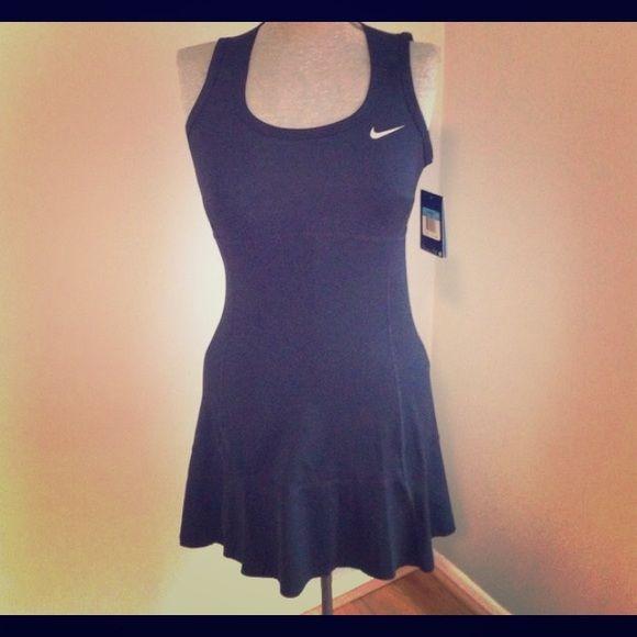 navy blue nike tennis dress