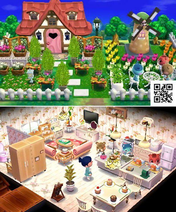 みき ハピ森 Doubutsunomori Twitter Animal Crossing Qr