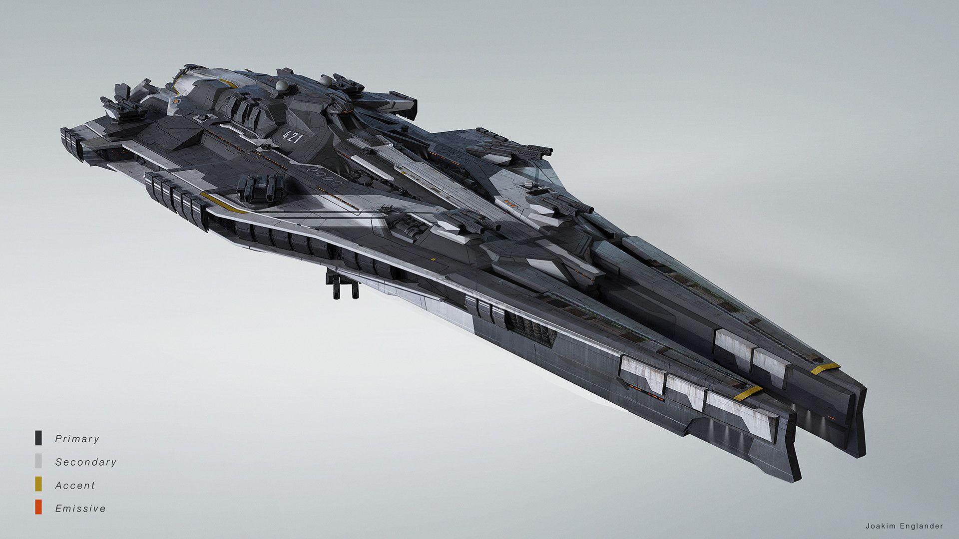 artstation spaceship joakim englander spaceships in 2018