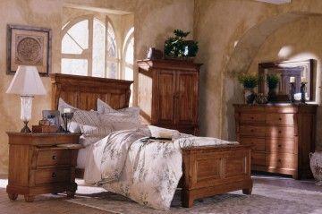 Genial Kincaid Tuscano Solid Wood Panel Bedroom Set