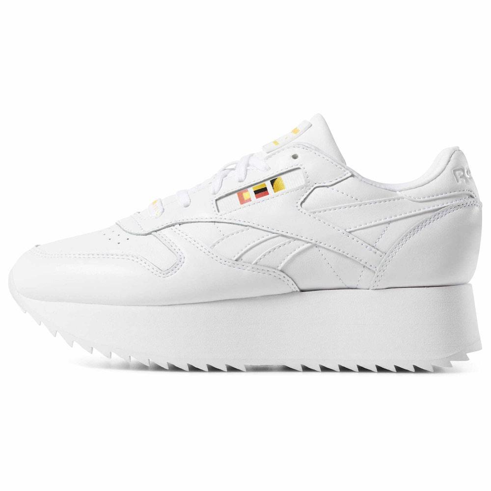 Reebok Classic Sneaker Double X Gigi Hadid Damen Weiss Grosse 38 5 Reebok Sneaker Turnschuhe