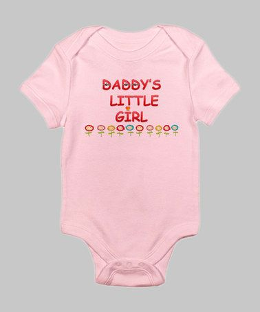 f3ef9a4a8 Petal Pink  Daddy s Little Girl  Bodysuit - Infant