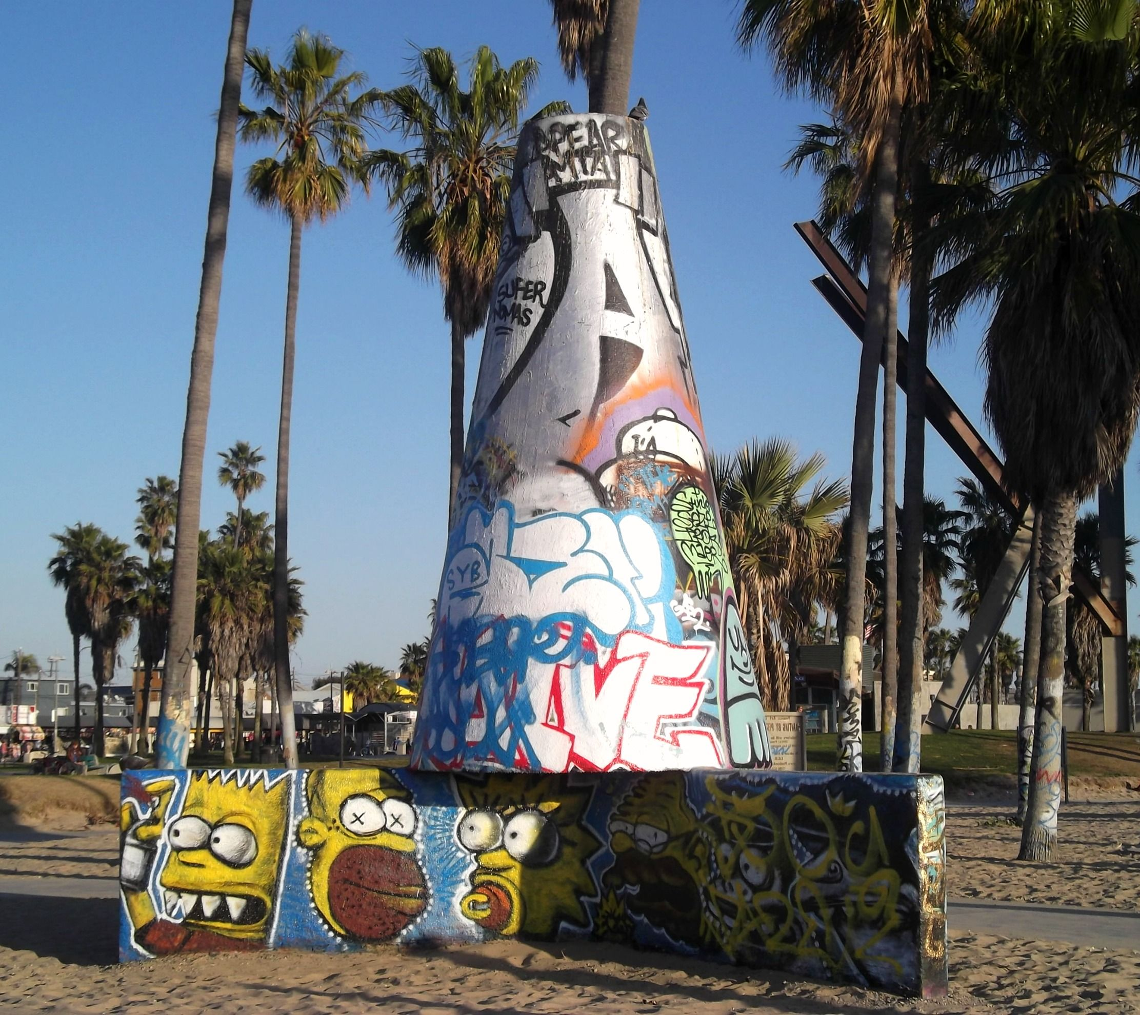 Venice Beach Art Walls Venice Beach Art Beach Wall Art Venice Beach