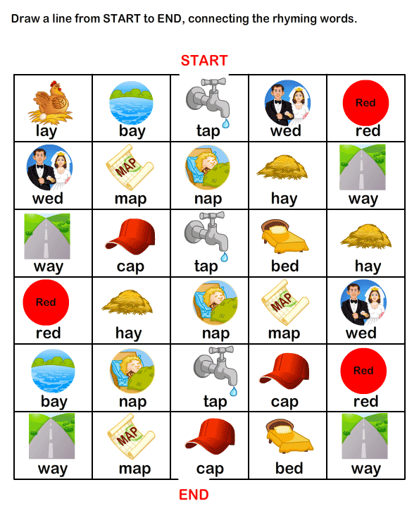 Esl Efl Worksheets Kindergarten Worksheets Rhyme Time