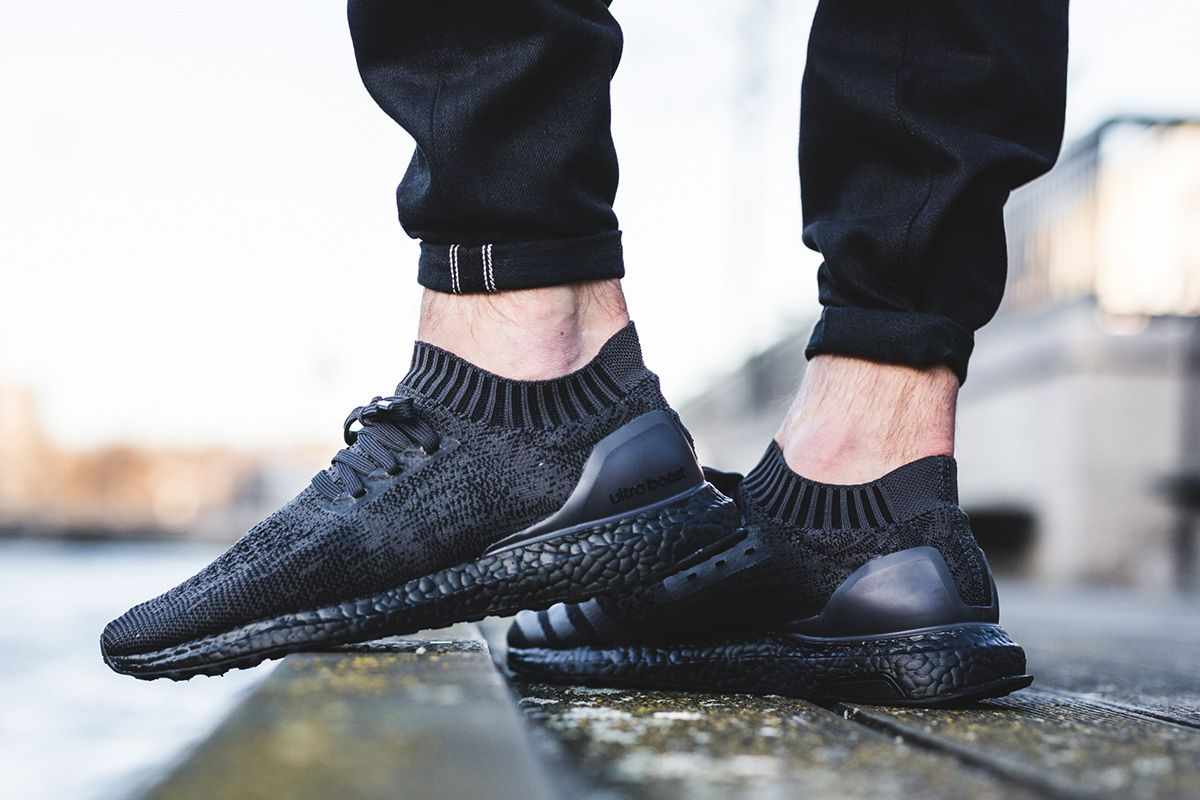 "new concept 9d90e 65bf1 On-Foot  adidas Ultra Boost Uncaged ""Triple Black"""