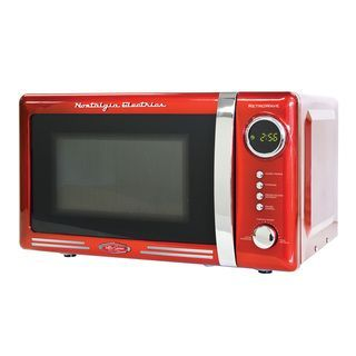Nostalgia Electrics Retro Series 0 7 Cubic Foot Microwave Oven Ping S On Microwaves Pinterest