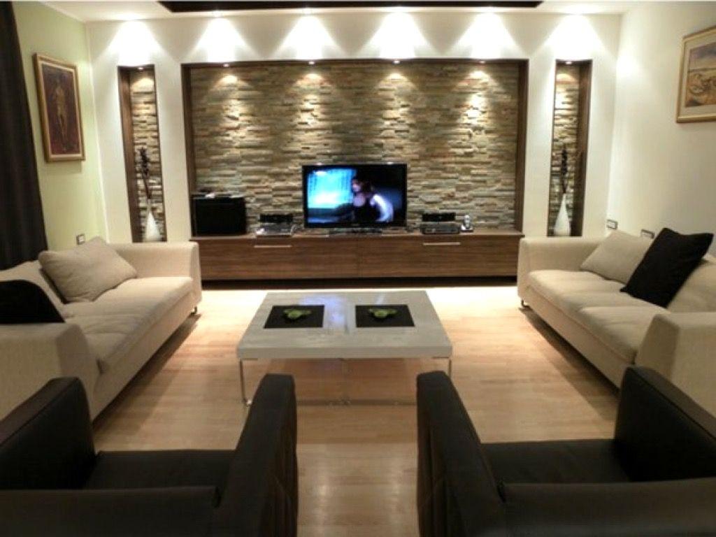 moderne wohnzimmer beleuchtung in 20  Modern apartment living