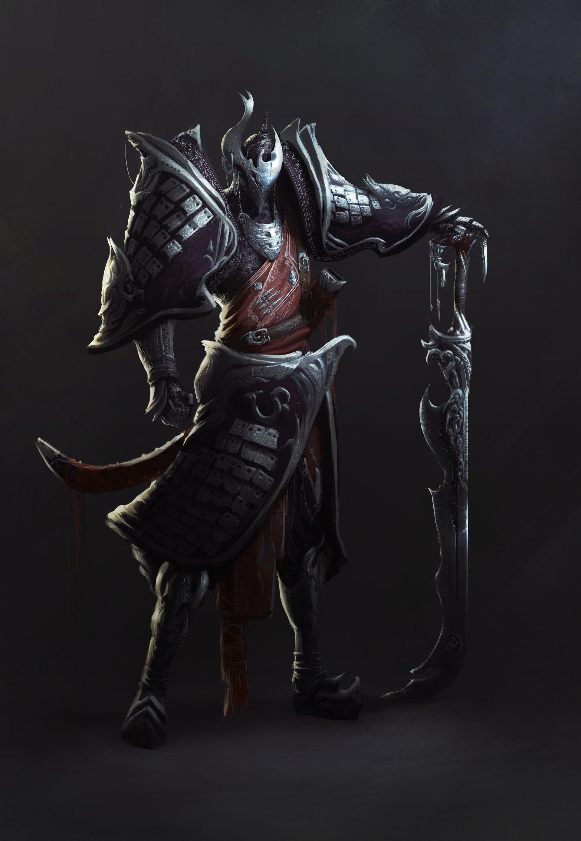 ArtStation - Warlord, Girma Moges
