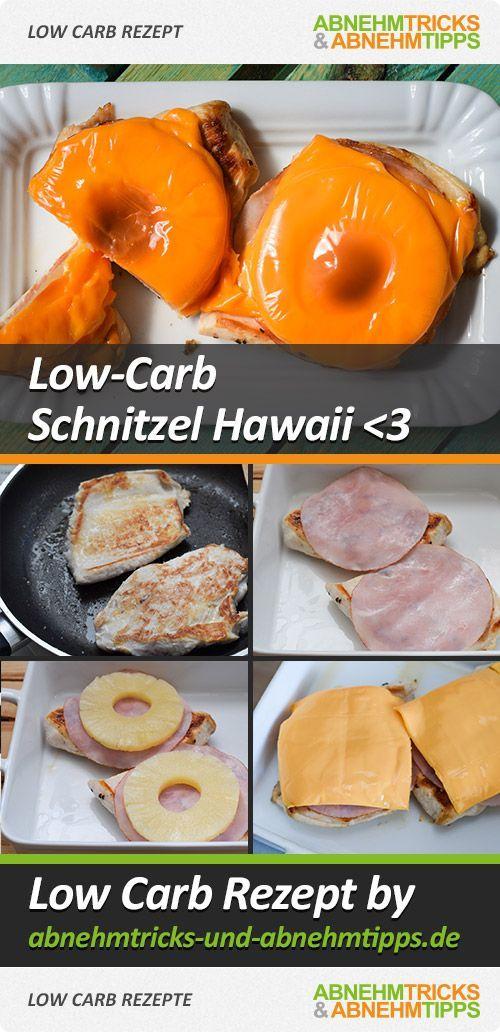 Saftiges Schnitzel Hawaii - schnell gemacht und Low Carb!