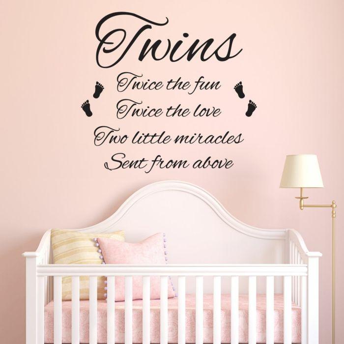 Stickers chambre bébé - comment habiller les murs | Stickers chambre ...