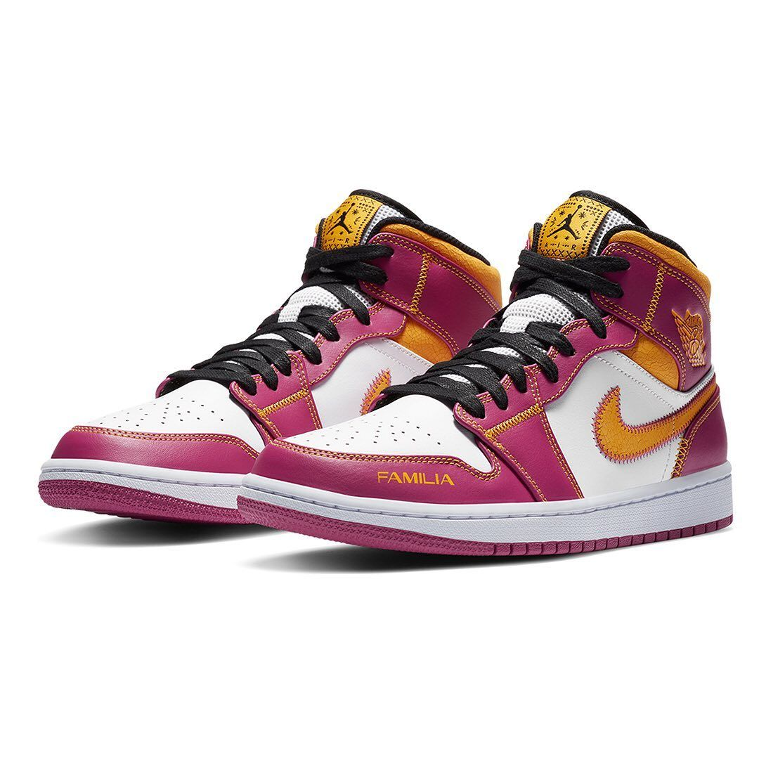 Highsnobiety Sneakers Hskicks On Instagram This Year S Nike Día De Muertos Collection Celebrates Family The Air Jordan 1 Mid Ai Jordan 1 Air Jordan Jordan