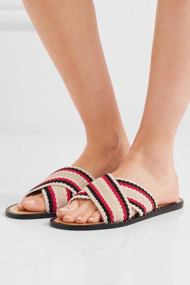 Rag & Bone Woven Slide Sandals best wholesale online Cm9opsgit