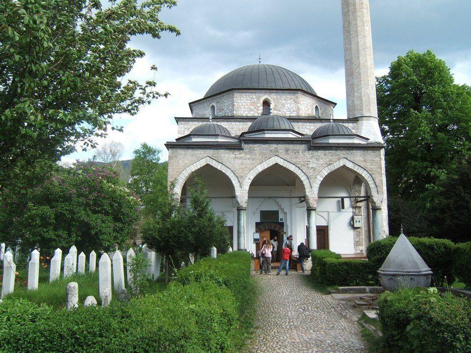 Ali pasha mosque in sarajevo bosnia and herzegovina orient mosque altavistaventures Choice Image