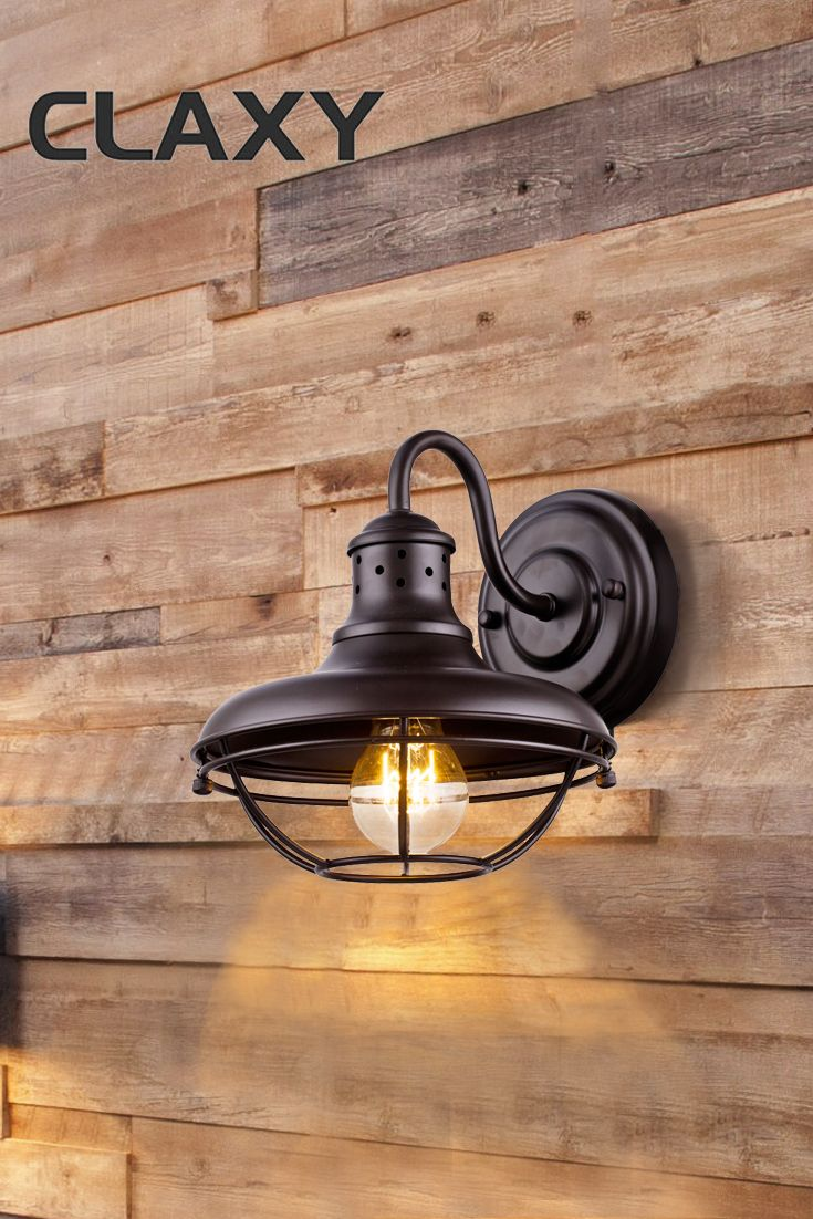 Add a touch of industrial and rustic to your decor cage