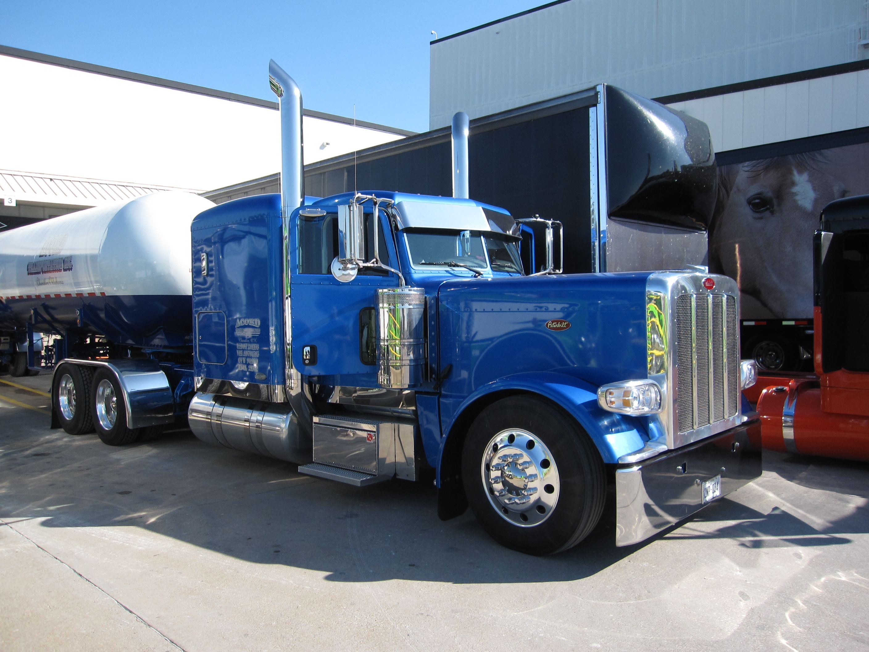 Images for custom peterbilt semi trucks