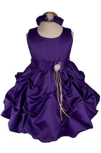 c839803fa AMJ Dresses Inc Baby-girls Purple Flower Girl « StoreBreak.com ...